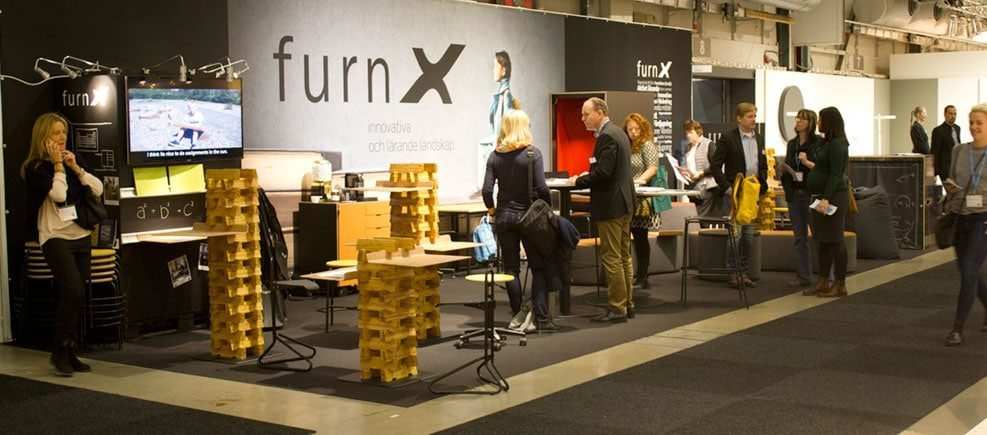 Introbillede FurnX messestand Presse